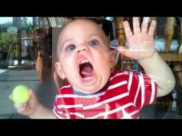 Funny kids. Funny moments with children and